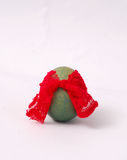 Easter egg, Green  Royalty Free Stock Photos