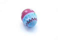 Easter egg hand made paint Stock Photos