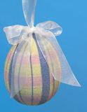 Easter egg hanging Stock Image