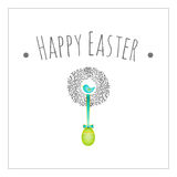 Easter card Royalty Free Stock Photography