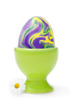 Easter egg with happy colors Stock Photos
