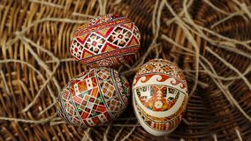 Easter egg 2016 happy stock video footage