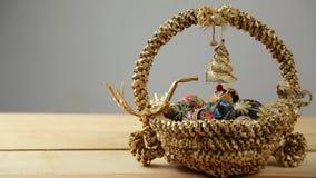 Easter egg 2016 happy stock video