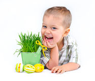 Easter Egg Hunt Royalty Free Stock Photo