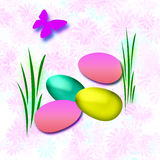 Easter Egg Hunt Stock Images