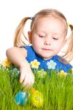 Easter egg hunt royalty free stock image