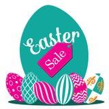 Easter egg hunt background flat design EPS 10 vector. Royalty free stock illustration for greeting card, ad, promotion, poster, flier, blog, article vector illustration