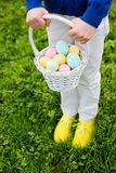 After easter egg hunt Stock Photos