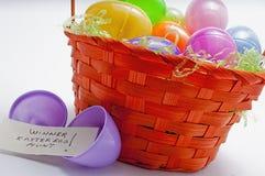 Easter egg hunt,winner Stock Images