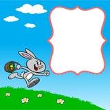 Easter Egg Hunting Invite Stock Photo