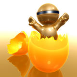 Easter egg icon symbol Royalty Free Stock Image