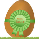 Easter egg illustration Royalty Free Stock Image