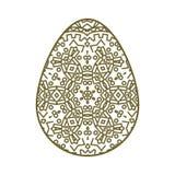Easter egg illustration Stock Image