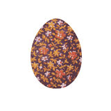 Easter egg.Image of an egg with floral ornament Royalty Free Stock Photography