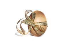 Easter Egg isolated on white Royalty Free Stock Photo