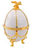 Easter egg for jewellery Royalty Free Stock Images