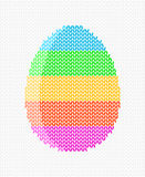 Easter egg on a light background Stock Image