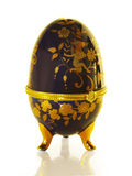 Easter egg like Faberge. On a white background royalty free stock images