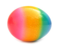 Easter egg lovely colorful painted with spots Royalty Free Stock Photography