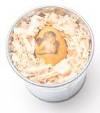 Easter egg made decoupage methods Royalty Free Stock Photo