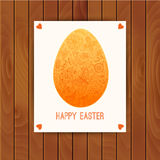 Easter egg made of flowers, floral Easter egg background. Happy Royalty Free Stock Images