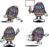 Easter Egg Man Royalty Free Stock Photo