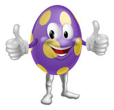 Easter Egg Man Illustration Stock Photo