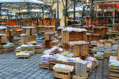 Easter Egg Market - Vienna Royalty Free Stock Photos