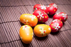 Easter Egg Nest Royalty Free Stock Photos