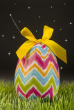 Easter Egg at night. Stock Photography