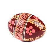 Easter egg with ornament. Royalty Free Stock Photos
