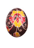 Easter egg with ornament Royalty Free Stock Images