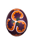Easter egg with ornament Stock Photography
