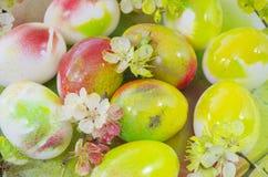 Easter egg paint aerosol Stock Images