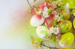 Easter egg paint aerosol Royalty Free Stock Images
