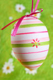 Easter egg painted Royalty Free Stock Image