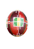 Easter egg painted in folk style Stock Image