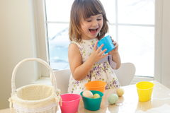 Easter Egg Painting Stock Photography