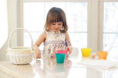 Easter Egg Painting Stock Photos