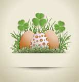 Easter Egg paper Royalty Free Stock Images