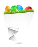 Easter egg paper Royalty Free Stock Photography