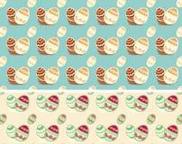 Easter egg pattern () Stock Photos
