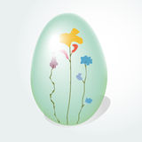 Easter egg with a pattern Stock Photos