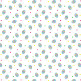 Easter Egg Pattern Royalty Free Stock Photography