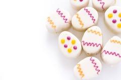 Easter egg petit cake Royalty Free Stock Image