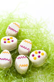 Easter egg petit cake Royalty Free Stock Photos