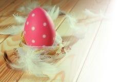 easter egg pink Στοκ φωτογραφία με δικαίωμα ελεύθερης χρήσης