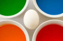 Easter egg project Royalty Free Stock Images
