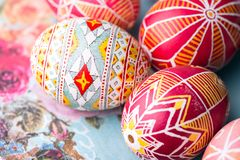 Easter egg Pysanka Royalty Free Stock Images