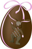 Easter Egg Rabbit stock image